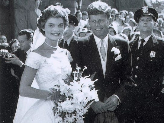 In 1953, Jacqueline Kennedy wore a wedding gown designed
