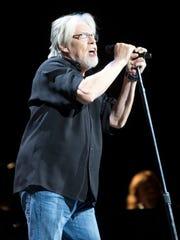 Bob Seger performs at Gila River Arena on Feb. 19,