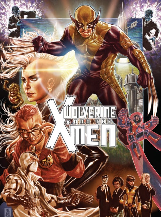 Wolvie All New cover