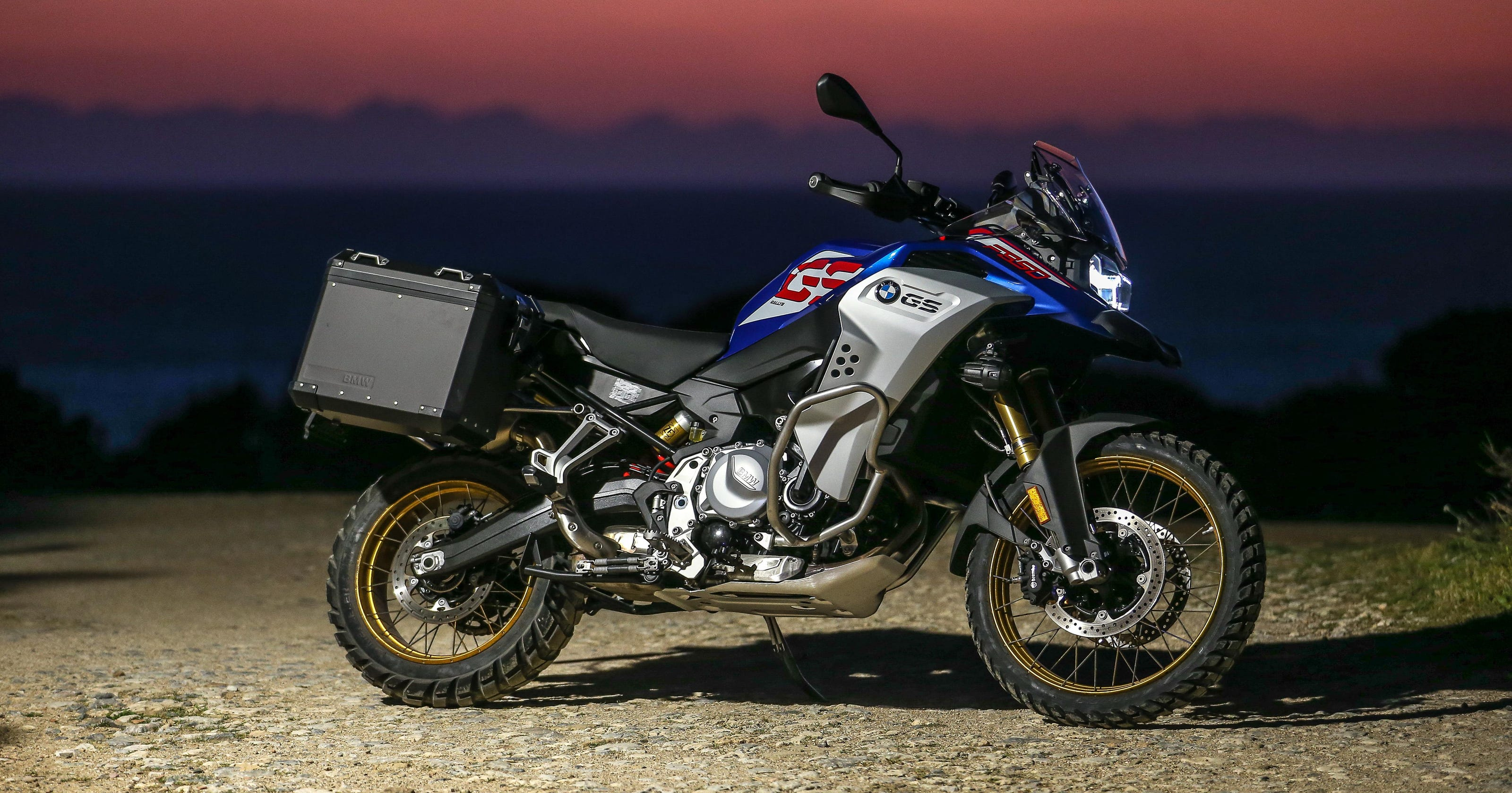 BMW and KTM adventure bikes are very different, but meet at