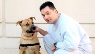 Mark Lanzilotti of Washington Township was among the 111 federal prison inmates whose sentences were commuted by President Obama Tuesday. Lanzilotti took a course in prison to become a certified therapy dog trainer.