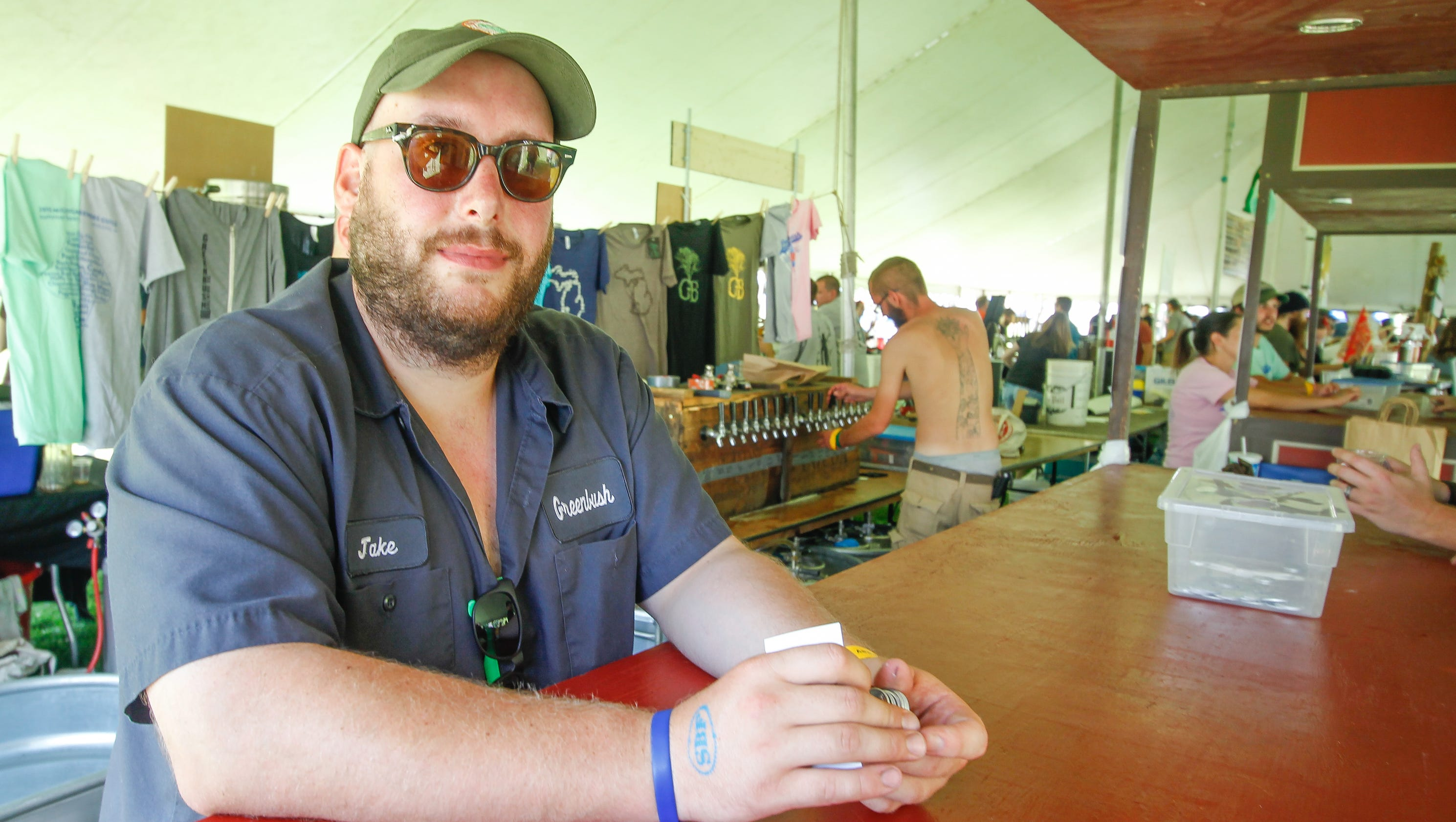 Ice cream beer a summer festival treat in ypsilanti for Michigan craft beer festival