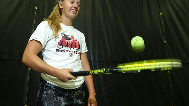 SPASH's Emily Luetschwager reflects on a phenomenal high school career which included back-to-back Division 1 state singles championships..