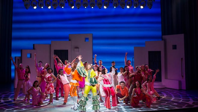 """The cast of """"MAMMA MIA!"""" will be in Knoxville July 7 and 8."""