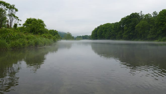 The west branch of the Delaware River.
