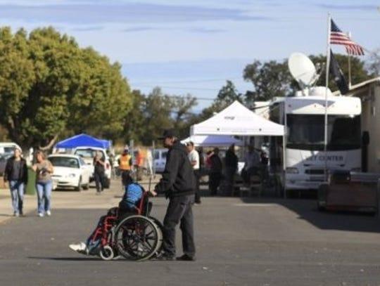 Veterans make their way around the Shasta District