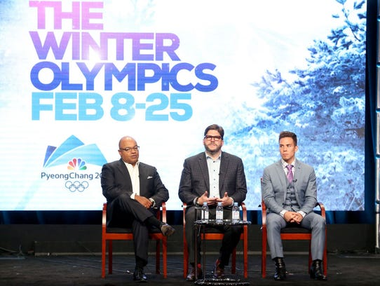Primetime Host Mike Tirico, President, NBC Olympics