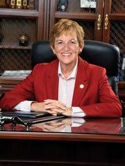 Hanover College President Sue DeWine.