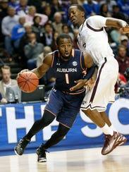 SEC Auburn Mississippi St Basketball (3)
