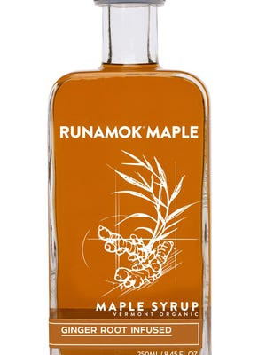Ginger root-infused maple syrup from Runamok Maple.