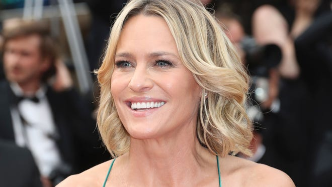 """Saturday: Robin Wright, seen last month for a screening of the film """"Loveless'"""" the Cannes Film Festival, will have her own short film. """"The Dark of Night,"""" world premiered at ShortFest"""