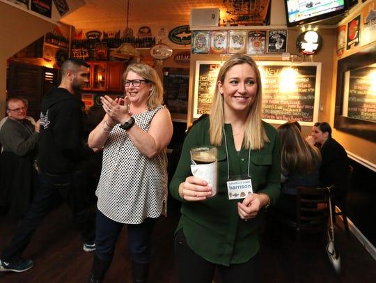 Liz Johnson and Megan McCaffrey at the Craftsman Ale