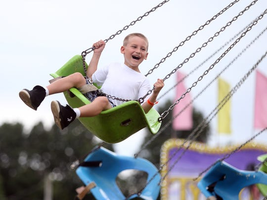 Day 2 of the annual Middlesex County Fair at the Middlesex