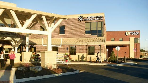 The 24-million dollar facility North Cornwall Health Center at 1710 Cornwall Road.