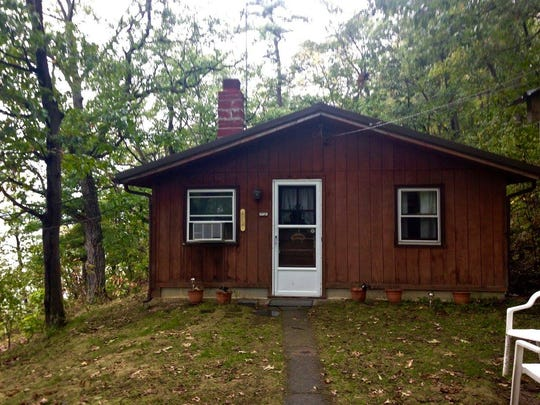 The Montour Cabin at Seneca Secrets.