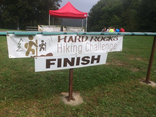 The Hard Rocks Hiking Challenge will take place on Sept. 24, 2016 at Standing Rocks Park.