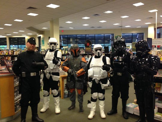 This year, the Bridgewater Barnes & Noble is teaming with the 501st Legion to collect books for three very special organizations during the annual Holiday Book Drive. The book drive runs through Jan. 1, 2017.
