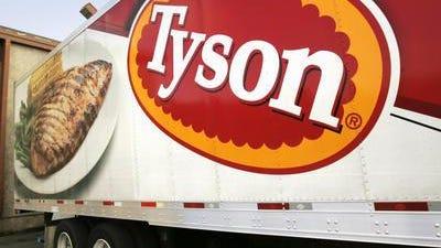 Tyson foods truck.