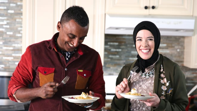 Celebrity chef Marcus Samuelsson and Selden Standard pastry chef Lena Sareini appear in the first episode Tuesday night.