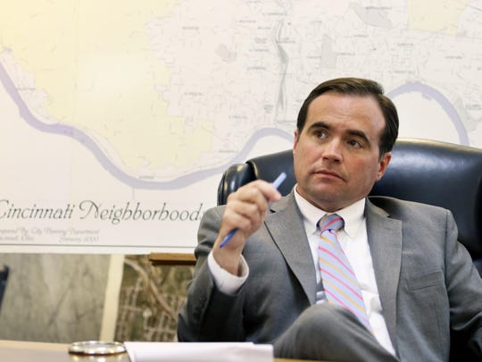 The Enquirer/Cara OwsleyMayor John Cranley discusses what's next after Tuesday's parks vote. Mayor John Cranley discusses what's next after Cincinnati voters rejected a property tax to support parks. Photo shot Wednesday November 3, 2015.