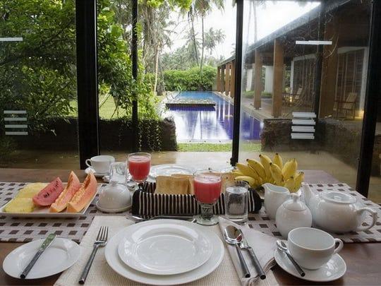 Villa Maggona, simple tropical serenity in Sri Lanka.