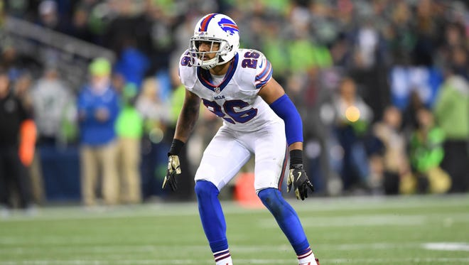 Buffalo Bills safety Robert Blanton (26) during a NFL football game against the Seattle Seahawks at CenturyLink Field. The Seahawks defeated the Bills 31-25.