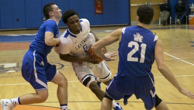 Lakewood vs Donovan Catholic boys basketball