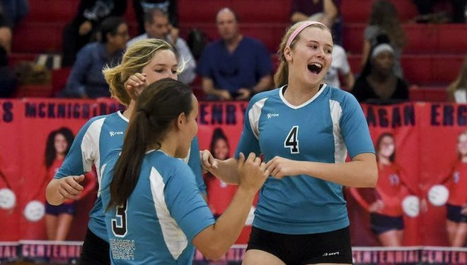 Jensen Beach's volleyball team will not get to try for a third consecutive East Coast Challenge title after the this weekend's tournament was canceled because of uncertainty in the aftermath of Hurricane Irma.