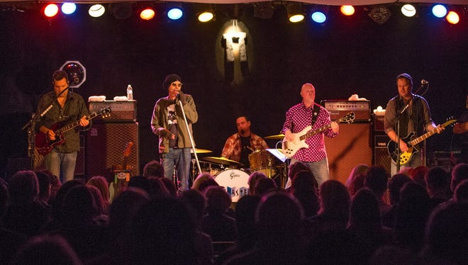 The Boxmasters, featuring actor Billy Bob Thornton (second from left), perform at Shank Hall April 22. About 90% of the shows at Shank feature out-of-town acts.