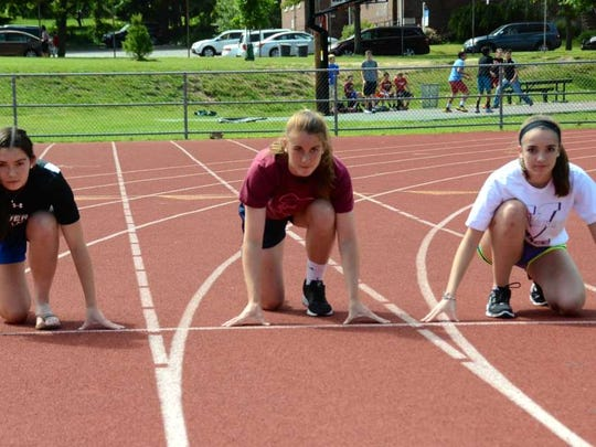 Maggie, Julia and Kate Ashley have all thrived on the track during their time as Verona High School athletes.Julia AshleyMaggie AshleyKate Ashley