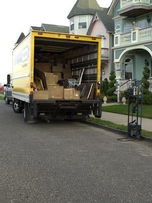 Rental moving van