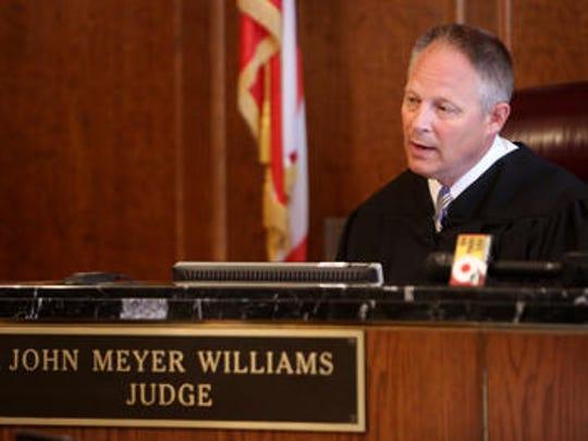 Judge John Williams in juvenile court