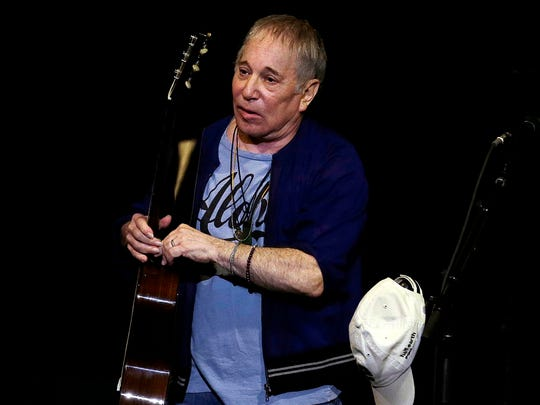 Paul Simon performs at Summerfest's American Family Insurance Amphitheater June 30.