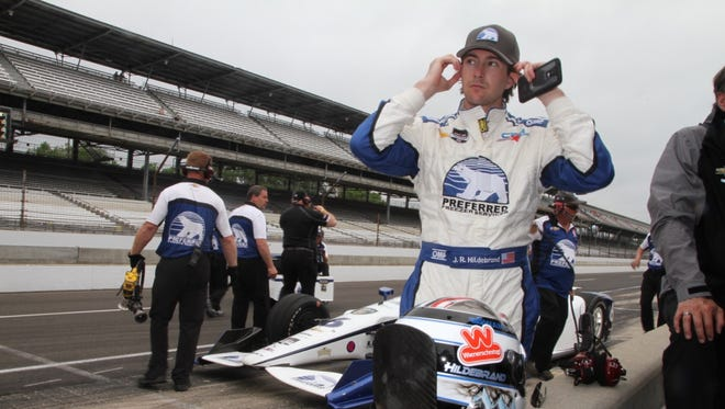 JR Hildebrand finished eighth in the 2015 Indianapolis 500 for Ed Carpenter's team.