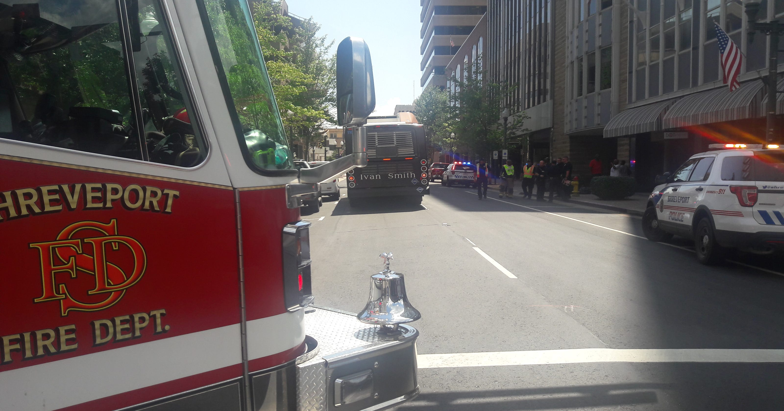 SporTran bus involved in downtown wreck, 10 injured