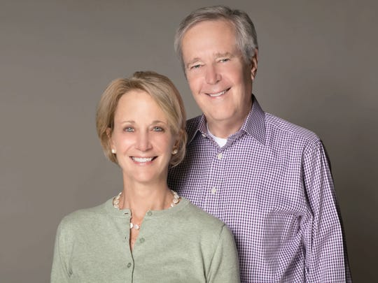 Co-authors James Fallows and Deborah Fallows.