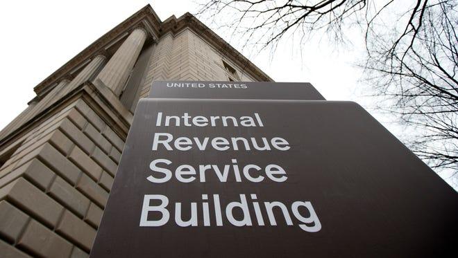 IRS headquarters in Washington D.C.