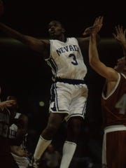 When he left Nevada, Brian Green was one of the top scorers in school history.