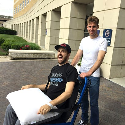 James Hinchcliffe is released from the hospital on