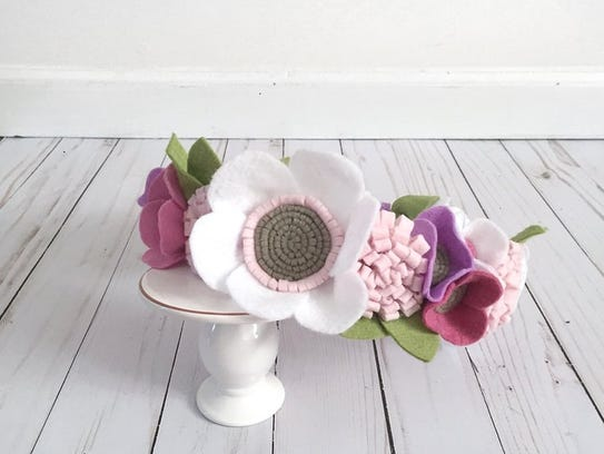 Sydney Myers looks for real flower inspiration for