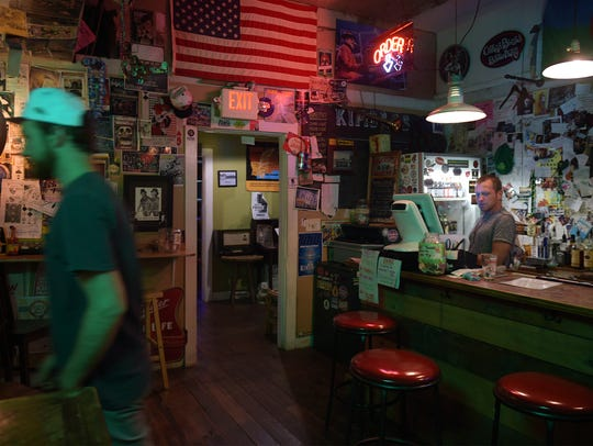 Kimbros, a small music joint in Franklin, is a big