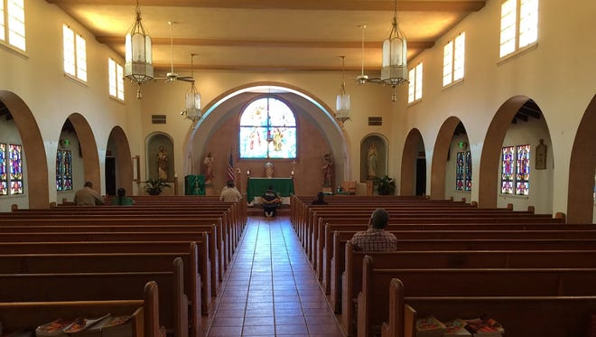 Inside St. Johns Church in King City