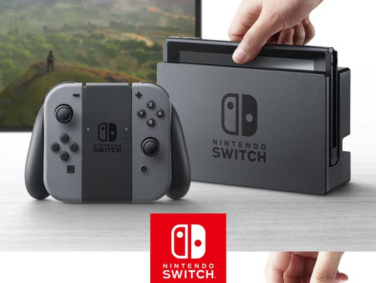 The Nintendo Switch video game console, which will