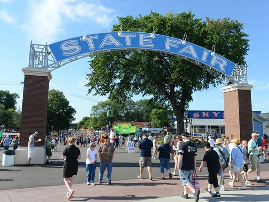 Visitors to the Minnesota State Fair can enter through