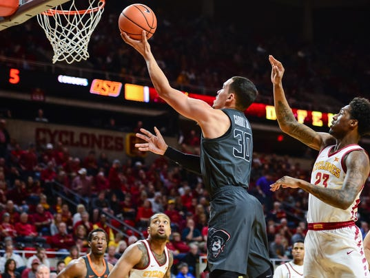 NCAA Basketball: Oklahoma State at Iowa State