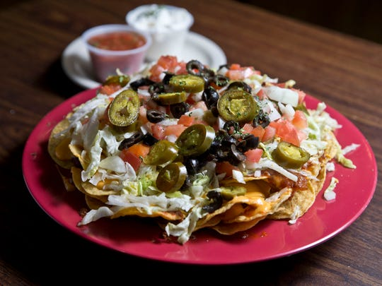 Nacho platter. Miracle Pub in Toms River offers a variety of tasty appetizers that go well with the big football game on Sunday.Toms River, NJ Wednesday, January 27, 2016@dhoodhood