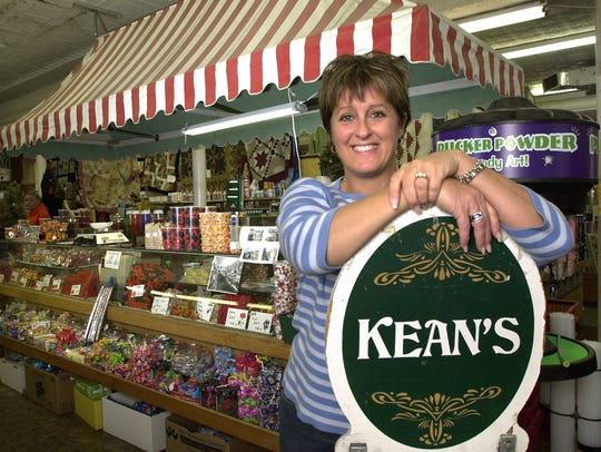 Owner Teresa Wren at the Kean's Store in Mason, Oct.