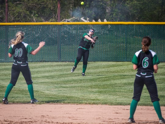 Yorktown faced off against Delta at Wes-Del High School