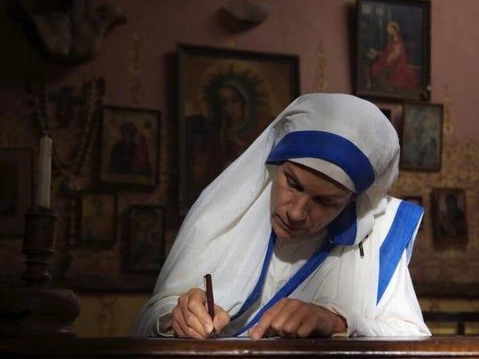 "Juliet Stevenson portrays Mother Teresa in ""The Letters."""