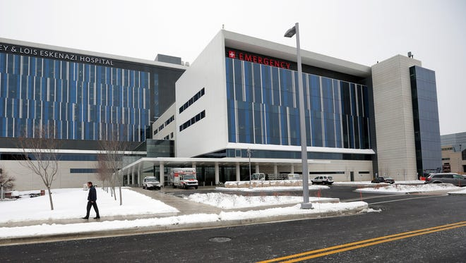 Eskenazi Hospital is one of several properties with large annual stormwater fees under new rates in Indianapolis.